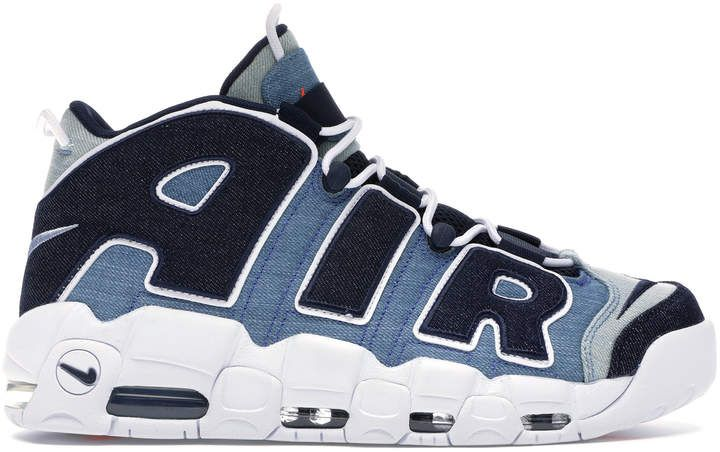 Nike Air More Uptempo 96 Denim | Nike, Nike air, Denim shoes