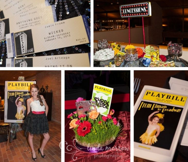 22 Best Images About Broadway Party Theme On Pinterest: 55 Best Images About Bat Mitzvah Ideas On Pinterest