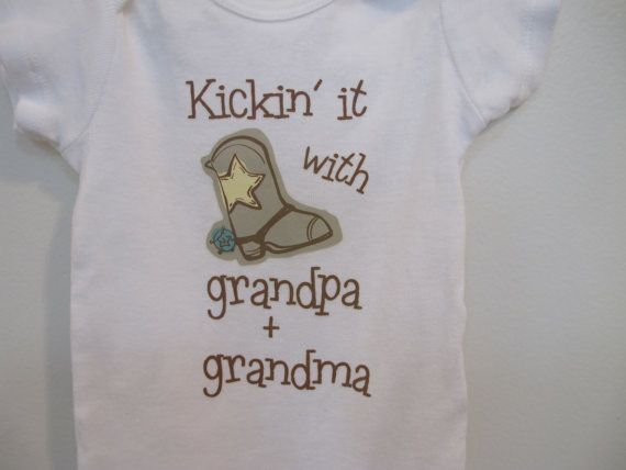 Grandpa Baby Outfit Grandpa Baby Bodysuit Grandpa Baby: 17 Best Images About Country Western Baby Clothes On