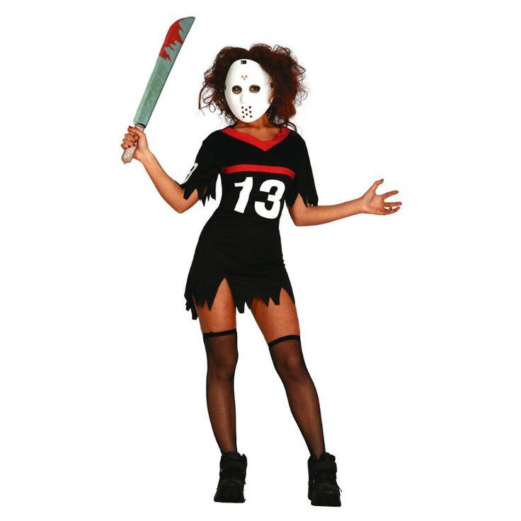 Déguisement Femme Vendredi 13 #déguisements #halloween