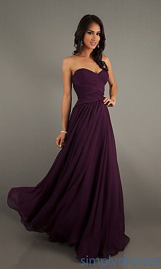 Strapless Floor Length Gown by Mori Lee 20411 at SimplyDresses.com- just a Lil cheaper version