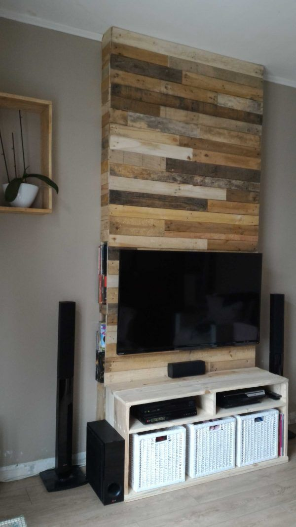 17 Best Ideas About Tv Entertainment Wall On Pinterest