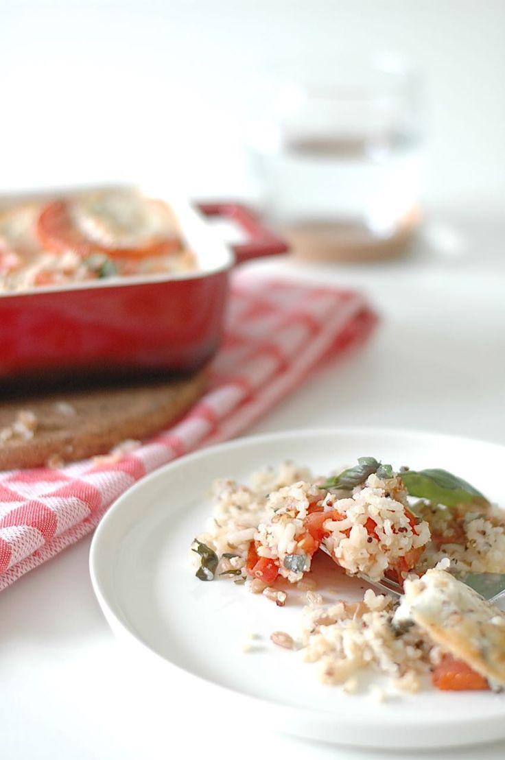 Recept: quinoa met tomaat en buffelmozzarella