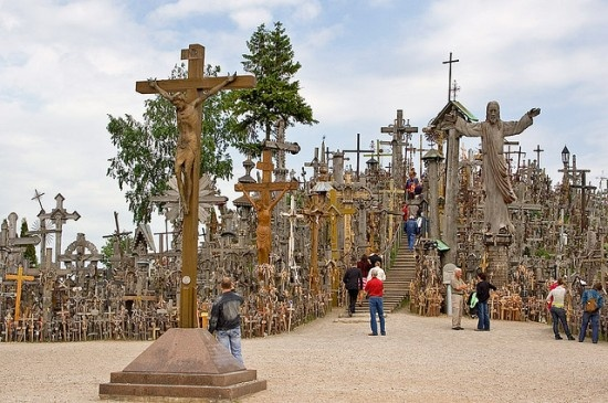 The Hill of Crosses, Šiauliai,Lithuania