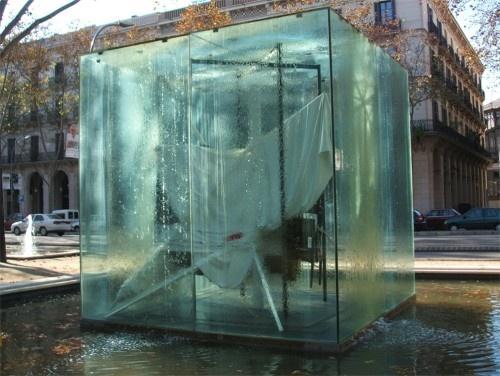 Antoni Tàpies/  Nube y silla (1990)