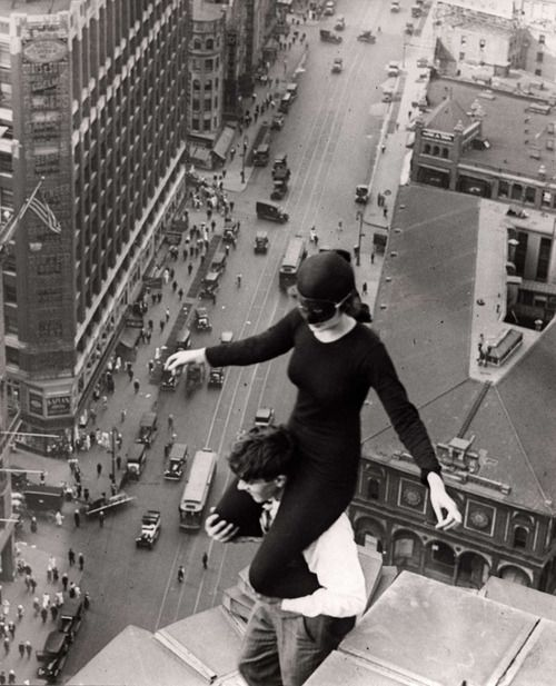 Acrobats - Los Angeles, 1921. S)