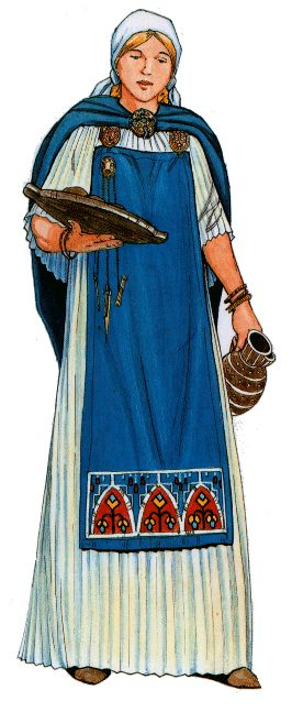 Women played many fundamental roles in Scandinavia during the Viking Age (eighth to eleventh century). Their positions ranged from slave to farmer to landholder and their tasks varied from the spinning and weaving of cloth, manufacturing garments and hangings, preserving, producing and cooking food and drink, tending livestock, working in the fields, cleaning and laundry to warming beds.