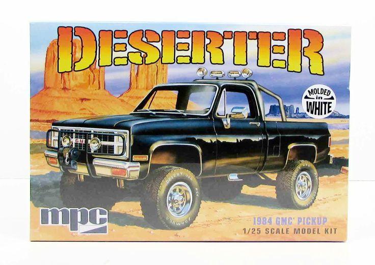 1984 GMC Pickup Deserter MPC 847 1/25 New Truck Model Kit