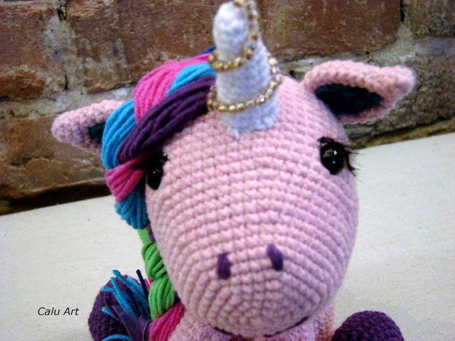 Calu Art: unicorn - jednorożec