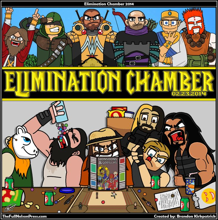 Elimination Chamber 2014 #WWE