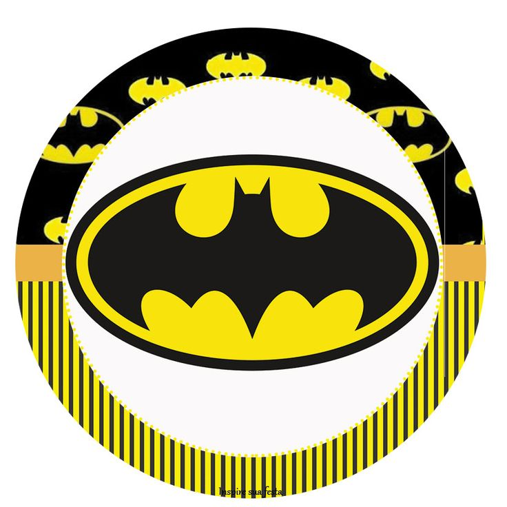 Batman – Kit festa grátis para imprimir – Inspire sua Festa ®
