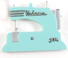 Sewing Machine in Blue