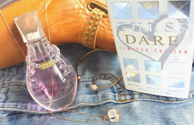 @Guess Dare Limited Edition Fragrance. Full review now on my blog yo!  Get it & smell pretty!!  Fruity  & Floral  More deets here @cotypraustralia #guessdare #fragrance #perfume #blogger #bbloggers #bbloggersau #instablogger #fashion #style #beauty #lifestyleblog #beautyblog #limitededition #priceline #spray #makeup #cosmetics #ozbloggers #ausblogger #australianbblog