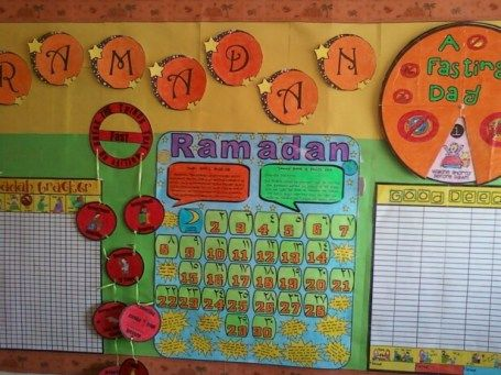 Ramadan calendars/bulletin boards