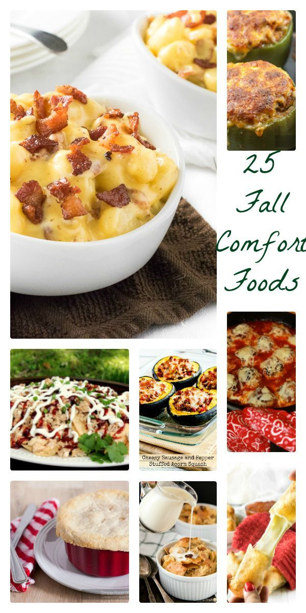 25 of the best comfort food recipes online to help you get through whatever ails you!