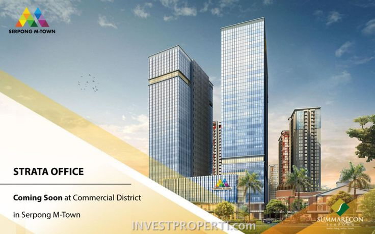 Office Commercial District Serpong M-Town