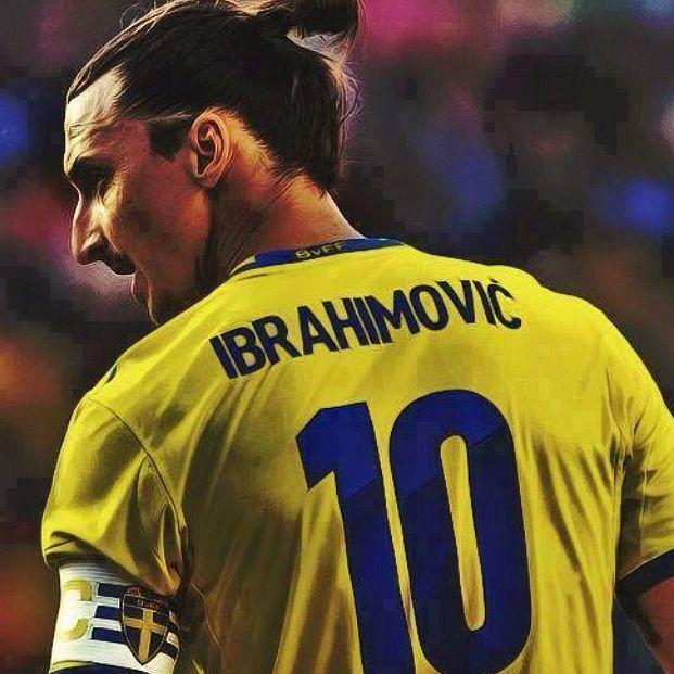 Zlatan Ibrahimovic Sweden national football team