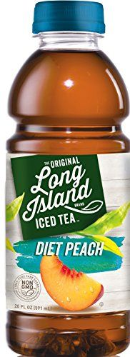 Diet Peach - Long Island Iced Tea - 12 Pack 20oz ** Click image for more details.