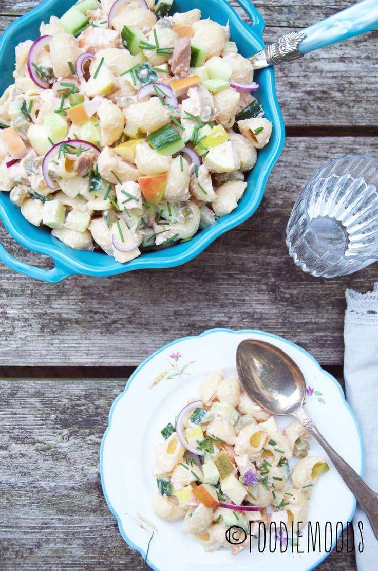 Romige pastasalade met tonijn