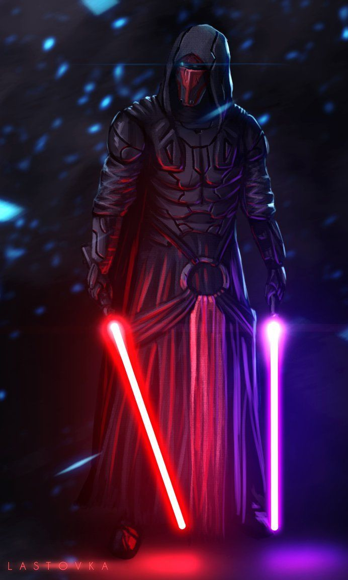 darth revan played pivotal roles as both jedi and sith in