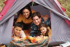 As summer approaches, a lot of families start discussing where to go on vacation, whether it's a weeklong stay somewhere or just a weekend jaunt. For an inexpensive and fun time, many parents will choose to take their kids tent camping. There are a lot of areas that have state and regional parks that are reasonably close by, and those places often have facilities for camping. If you decide to take your kids camping in tents, some of the things you will want to pack are listed below.