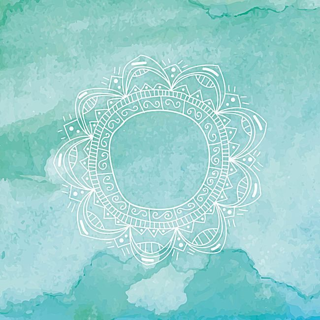 Yoga Watercolor Poster Background Yoga Background Crystal Background Literature Art