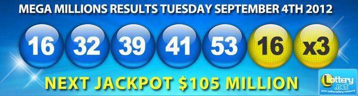 mega millions lottery winning numbers | mega-millions-results-09-04-2012