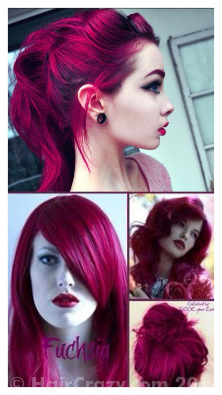 Dark Pink Hair Color - Best Off the Shelf Hair Color Check more at http://www.fitnursetaylor.com/dark-pink-hair-color/