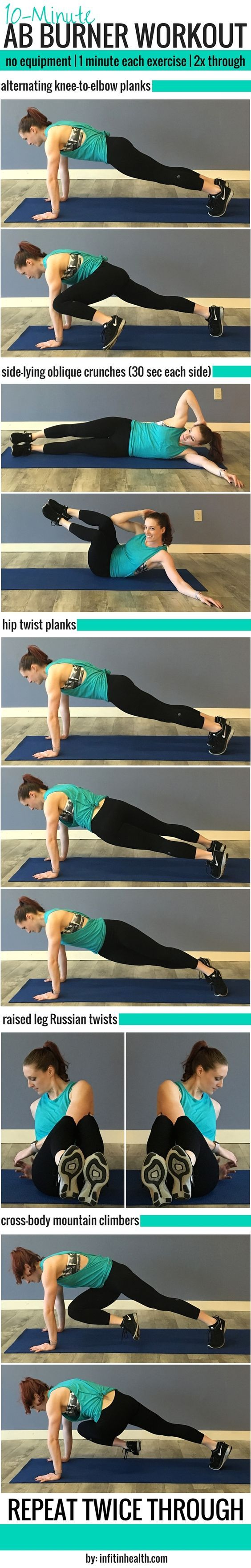 Maybe your New Year's goal was to get back in shape and things fell off, or maybe you simply feel it's time to invest more in your health. Here are five quick 10-minute workout routines you can do before school or work, or on your break! Do you have any quick fitness tips or are you on a health journey? Sharing is caring. Comment below!