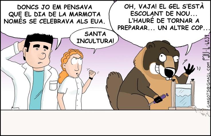 Tira biotec.no.lògica 34 - El dia de la marmota