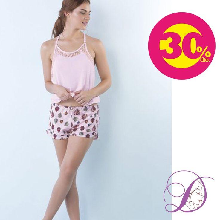 Pijama Corto Turquía disfruta de un 30% de descuento.