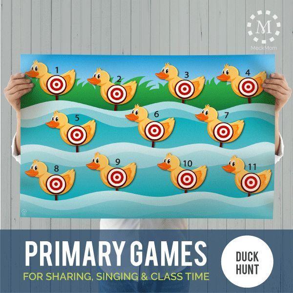 Primary Games: Duck Hunt Target Shoot-Games-MeckMom