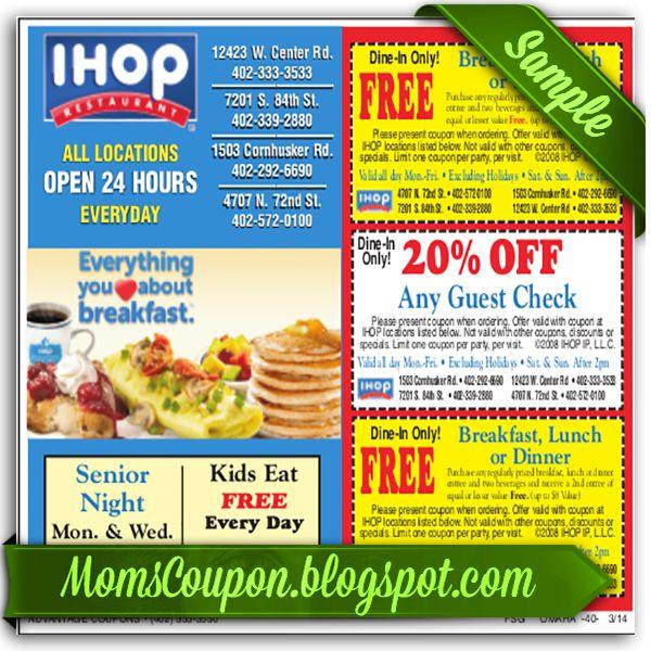 Ihop coupons 2018 online