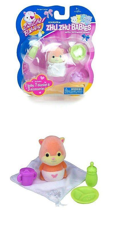 Zhu Zhu Pets 171529: Zhu Zhu Baby Snuggems With Accessories Orange -> BUY IT NOW ONLY: $35.95 on eBay!
