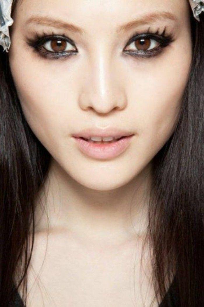 les 25 meilleures id es de la cat gorie yeux asiatiques sur pinterest ulzzang maquillage. Black Bedroom Furniture Sets. Home Design Ideas