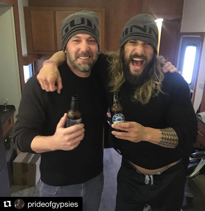 #Repost @prideofgypsies ・・・ Mad crazy love for Gal Ezra Ray Henry and Ben It's been an honor JL wrap. ✊🏽😜ALOHA j http://ift.tt/2dDbEfG