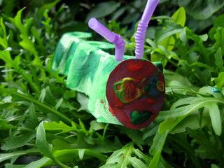 the very hungry caterpillar craft idea by Cathy @ Nurturestore.co.uk, via Flickr
