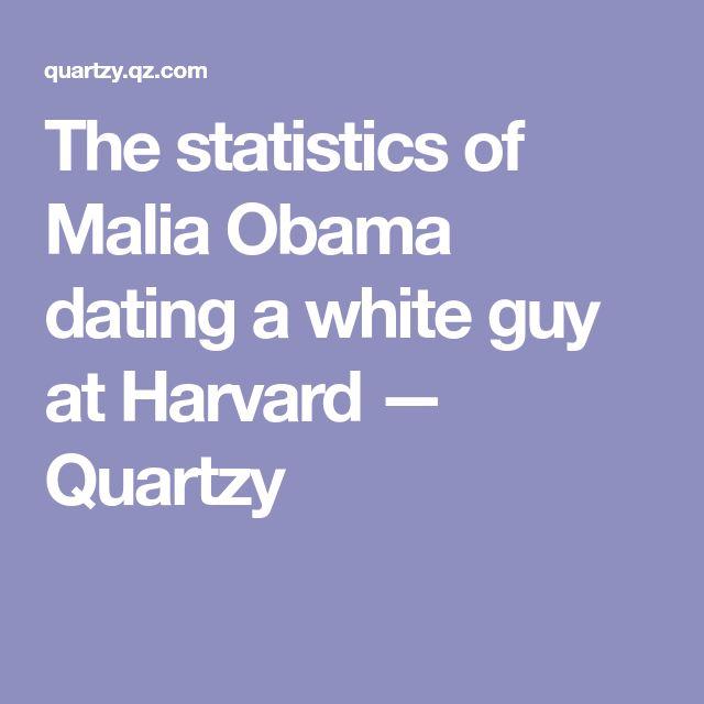 The statistics of Malia Obama dating a white guy at Harvard — Quartzy