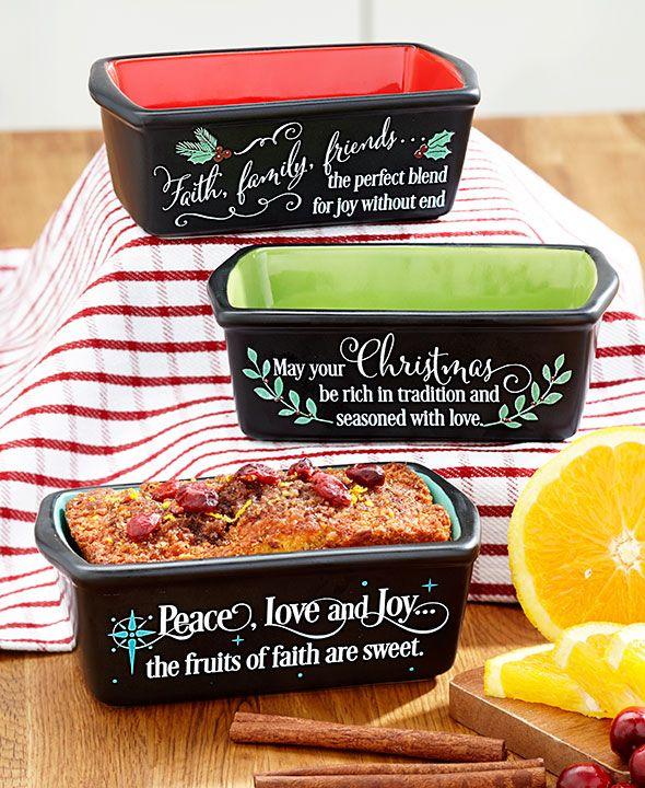 Set of 3 Mini Loaf Pans|LTD Commodities