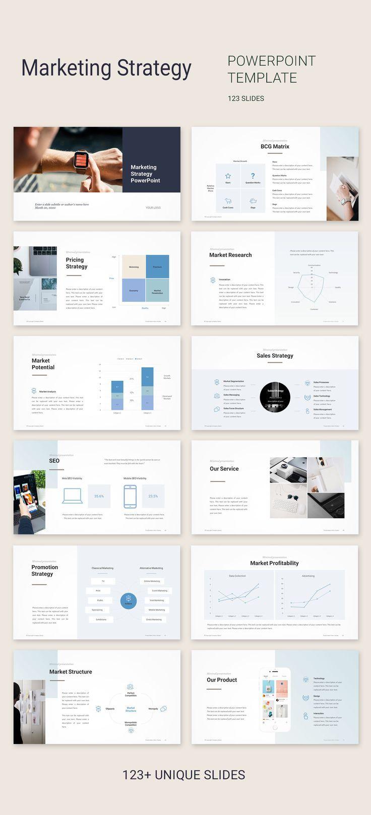 Marketing Plan Template Marketing Template Vorlage Fur Marketingplan Modele De Plan In 2020 Marketing Presentation Marketing Plan Template Digital Marketing Plan