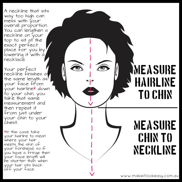 How To Create Your Perfect Neckline #neckline #howlongshouldmynecklacebe