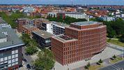 Neubebauung Am Klagesmarkt, Verwaltung hanova, in Hannover als JH-Referenz der Ziegelei Hebrok