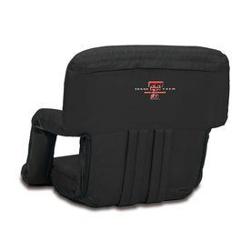 Picnic Time Indoor/Outdoor Steel Texas Tech Red Raiders Bleacher Foldi