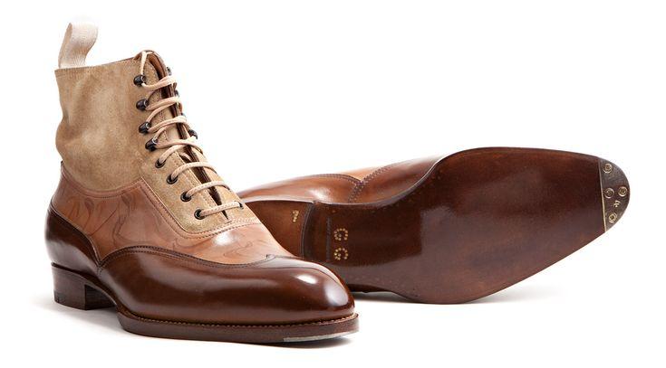 Tri Color Boots by Saint Crispins