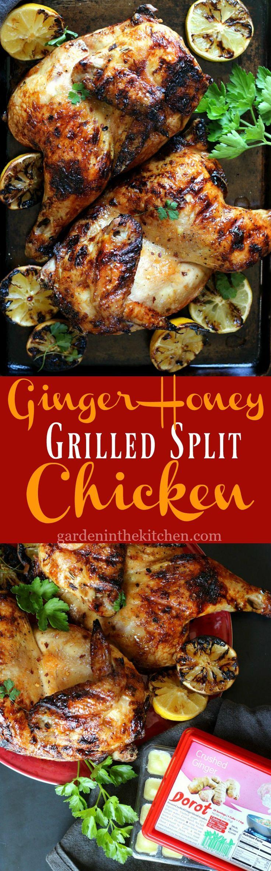 Grilled Split Chicken with @MyDorot Ginger & Honey #ElevateYourPlate #Ad https://ooh.li/7234d93