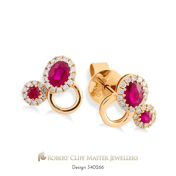 Ruby and Rose – together again! These stunning #earrings are a perfect match for our ruby and rose ring previously featured. A perfect pairing of rose gold, beautiful rubies, and brilliant cut #diamonds. For her, now only $1,750 --- #jewellerysale #somethingnew #specialoffer #specialprice #specialorder #specialdelivery #specials #specialgift #special #Gemstone #Gems #bling #stunningjewellery #design #beauty #style #jewellerydesign #luxurybrand #luxurylife #fashionaccessories #jewelleryaddict…