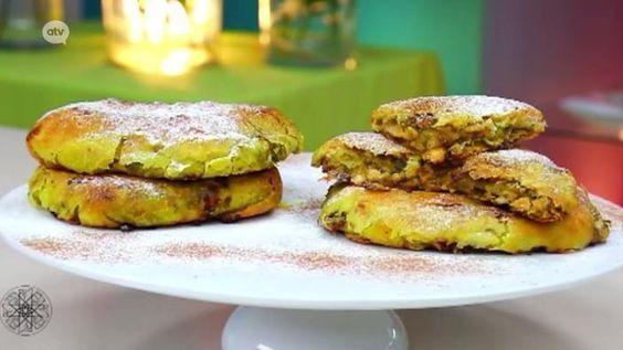 #Rghaïf of kruidenbrood met gebakken ui en kip naar het recept van #Choumicha (27)