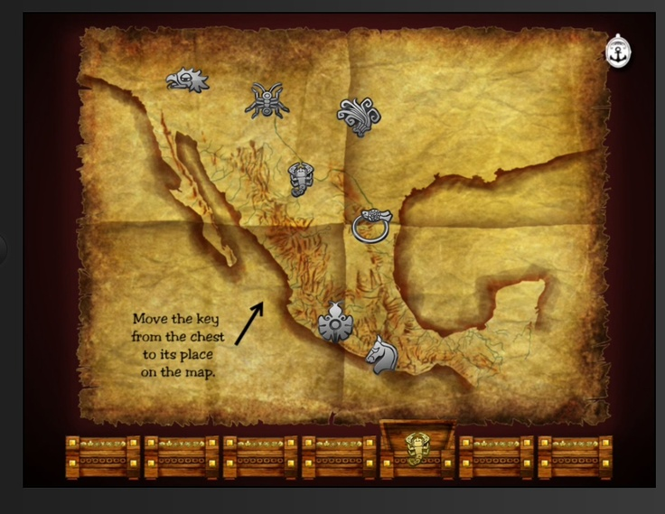 With Treasure Kai you can scramble the keys so your adventure changes every time