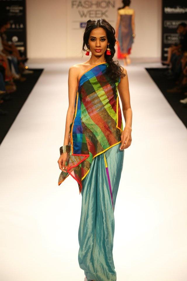 Mayank Anand and Shraddha Nigam, Lakme Fashion Week Winter-Festive 2012