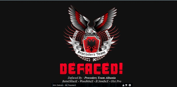 Procoderz Team Albania defaced the various Turkey Government website